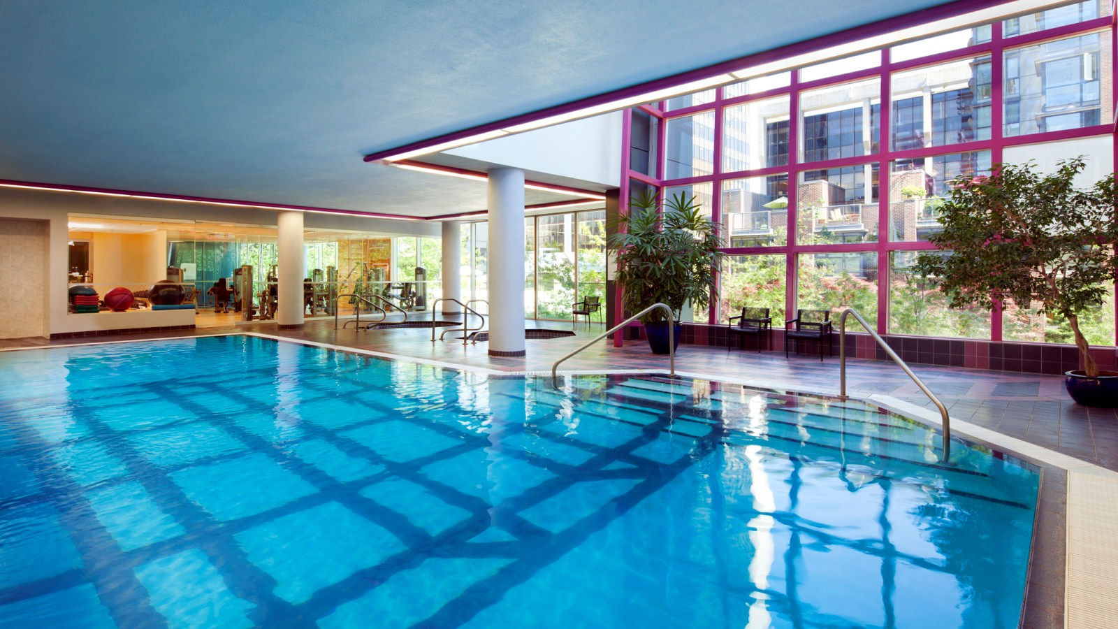 Downtown Vancouver Hotel Features - Pool
