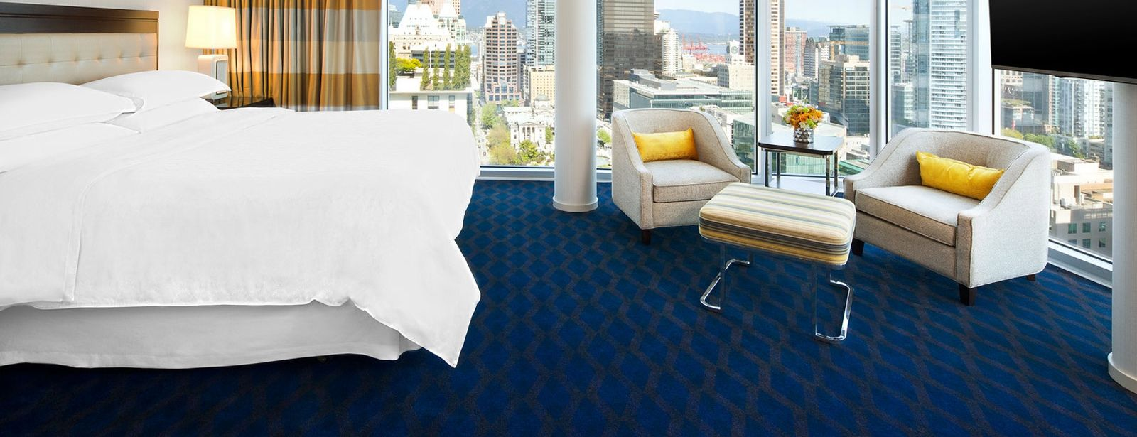 Vancouver Accommodation - Sheraton Vancouver Wall Centre